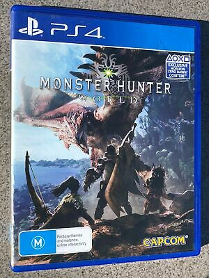 AU26.05 • Buy Monster Hunter World - Playstation PS 4 BRAND NEW Game