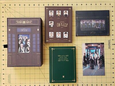 $50 • Buy BTS 5th Muster Magic Shop DVD With Freebies (includes All But Photocard)