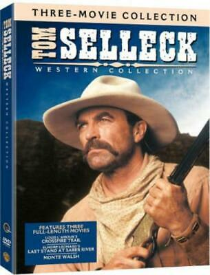 TOM SELLECK WESTERN COLLECTION (Region 1 DVD,US Import,sealed.) • 21.69£