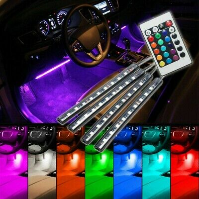 AU14.99 • Buy 9 LED Music Lamp Lights Car Charge Interior Accessories Decorative Atmosphere