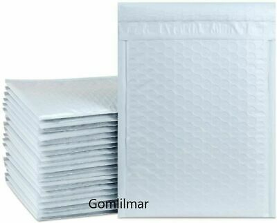$9.99 • Buy Any Size Poly Bubble Mailers Shipping Mailing Padded Bags Envelopes Self Seal