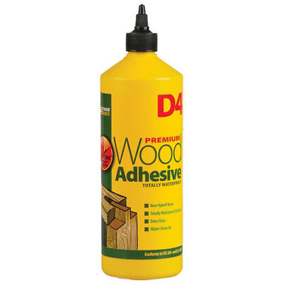 Everbuild D4 Wood Adhesive Solvent Free Industrail Grade 1 Litre • 13.28£