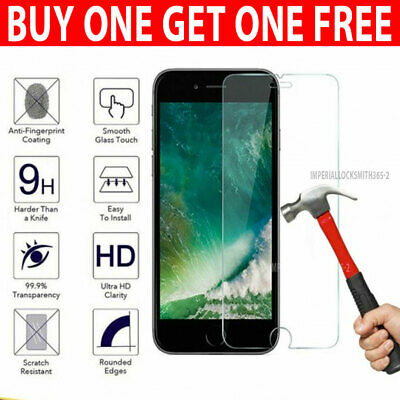 For Apple IPhone 8 Plus - 100% Genuine Tempered Glass Screen Protector • 0.99£