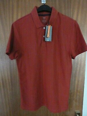 M&S Mens Polo Shirt 100% Cotton Reg. Fit Marks & Spencer T Shirt Top SMALL BNWT • 6.99£