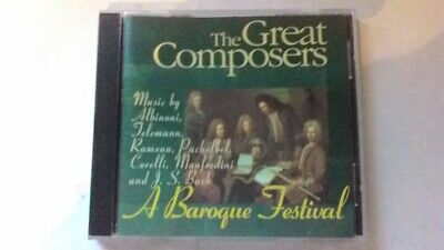 The Great Composers A Baroque Festival CD • 4.99£