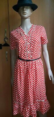 AU34.43 • Buy Vintage USSR Clothing Polka Dot Dress 60s-70s PRC-  FRIENDSHIP  Sz 88/164/S