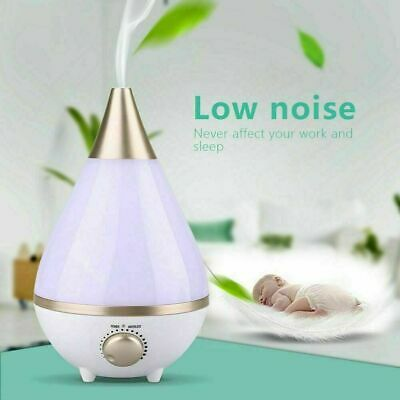 AU32.99 • Buy Aromatherapy Large 3L Diffuser Aroma Essential Oil Ultrasonic Air Humidifier LED
