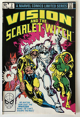 Marvel Comics Vision And The Scarlet Witch Comic #2 1982 WANDAVISION Spec NM • 4.99£