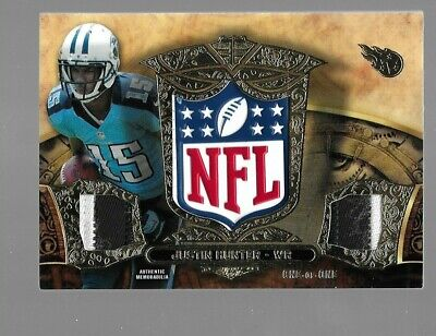 $99.95 • Buy JUSTIN HUNTER 2013 Topps Triple Threads Rookie Patch NFL Shield 1/1 Tennessee