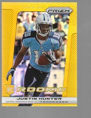 $39.95 • Buy JUSTIN HUNTER 2013 Panini Prizm Gold Rookie 3/10 Tennessee