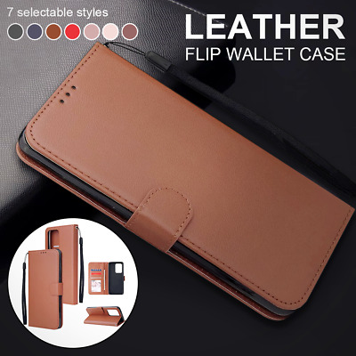 $ CDN6.65 • Buy For Samsung Galaxy S20+ Ultra 5G S10 Lite S10+ S9+ S8+ Leather Folio Wallet Case