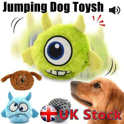 £8.29 • Buy Dogs Pet Puppy Toy Electronic Plush Giggle Ball Jumping Shake Squeak Interactive