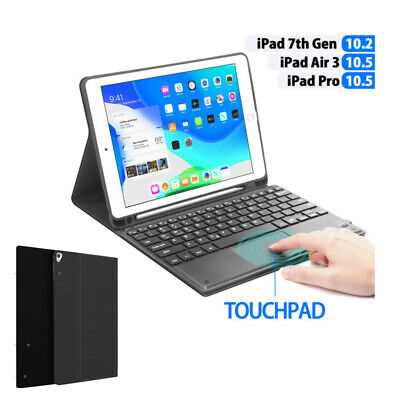 AU16.99 • Buy Touchpad / Backlit Keyboard Case For IPad 10.2  7th Gen 2019/ipad Pro 10.5/Air 3