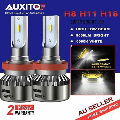 AU31.99 • Buy AUXITO H11 H8 CREE LED Headlight Kit Low Beam Globes Bulbs Headlamp 6500K White