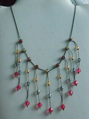£4.90 • Buy Adorable Pretty Indie Or Hippy Style Evening Necklace