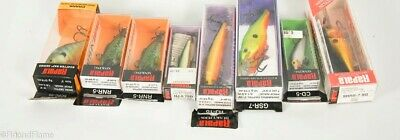 $ CDN39.71 • Buy Vintage Rapala Antique Fishing Lure Lot Of 8 In Boxes JJ44