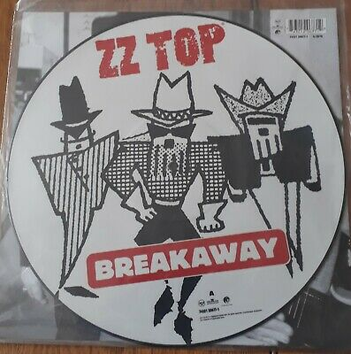 ZZ Top Breakaway 12  Picture Disc • 18£