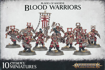 AU8.47 • Buy Warhammer Age Of Sigmar Blades Of Khorne Blood Warriors Singles