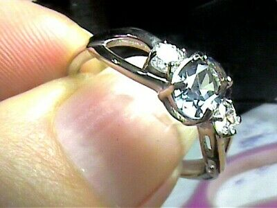 AU133.24 • Buy Sterling 925 Silver Ring Russian Alexandrite 10 Small Solitaire Color Change WOW