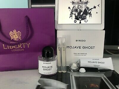 AU35.22 • Buy BYREDO MOJAVE GHOST 15ml WITH SCENT CARD + FREE BAL D'AFRIQUE