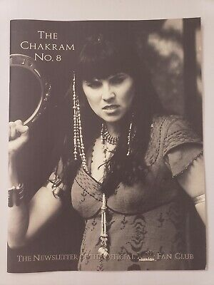 THE CHAKRAM No 8 THE NEWSLETTER OF THE OFFICIAL XENA FAN CLUB 1999 NEW CONDITION • 8.22£