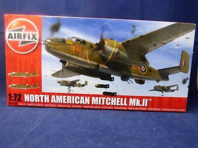 Airfix North American Mitchell MK11. Model Kit. 1:72 Scale. 166 Pieces. Ages 8+ • 24.99£