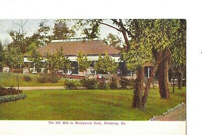 $9.99 • Buy 3 Amusement Park Postcards Kennywood Pittsburgh Pa Multi View Old Mill Lake Etc.