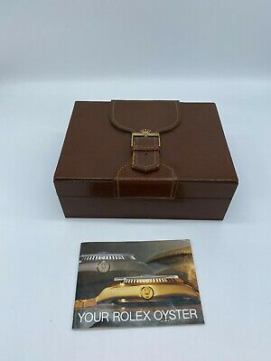 $ CDN177.06 • Buy Genuine Rolex Brown 71.00.06 Day-Date  Box  Booklet Set  Vintage 0628005A188