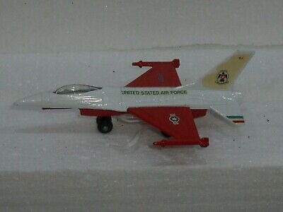 Matchbox Lesney Pre Pro Skybusters Decals Sb 24 F16 A Usaf Us Air Force Plane • 0.99£