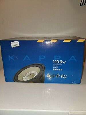 $115 • Buy *New* Infinity Kappa 120.9 12  Subwoofer 1400w Car Audio W/selectable 2/4  Ohm