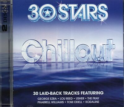 $2.68 • Buy 30 Stars Chillout (2 X CD) George Ezra/Tom Odell/The Fray/Wyclef Jean/Santana