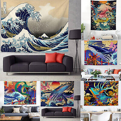 3D Art Tapestry Wall Hanging Bedspread Thrown Blanket Beach Towl Home Room Decor • 11.11£