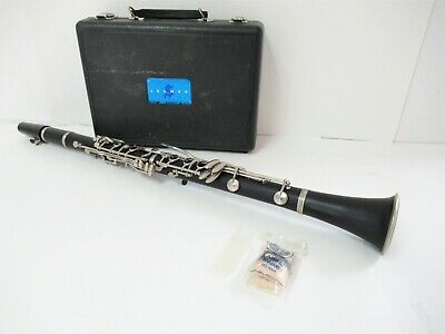 $45 • Buy BUNDY SELMER 1400 Bb Student Clarinet 0.59  Bores W/ Hard Case Great Condition!