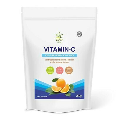 Ascorbic Acid High Grade 100% Vitamin C - Pharmaceutica​l Grade Pure Powder • 4.59£