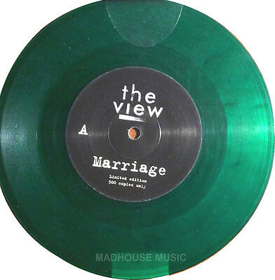 The VIEW 7  Marriage GREEN Vinyl RECORD STORE DAY 2015 Unplayed 500 Made ! NEW • 7.84£