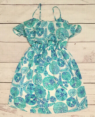 $13.50 • Buy Lilly Pulitzer For Target Sea Urchin For You Women's Dress XS X-Small Blue Green