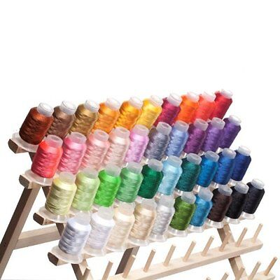 $24.99 • Buy 40 Spools Brother/Disney Colors Embroidery Machine Thread STUNNING COLORS