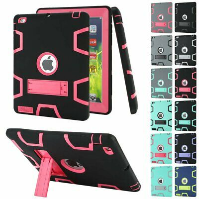 AU23.89 • Buy Shockproof Heavy Duty Case Tough Cover For Apple IPad 2 3 4 9.7  2018 Air 2 Mini