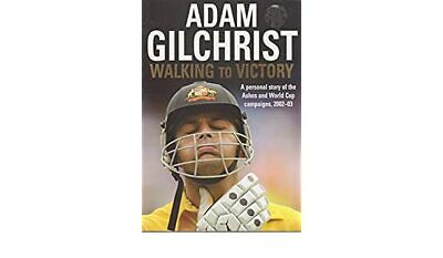 AU125 • Buy Adam Gilchrist Signed   Walking To Victory  Book   - Signed + COA & Photo Proof