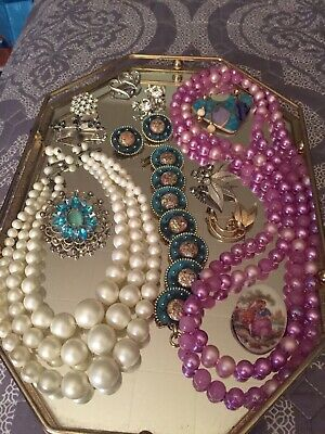 $ CDN14.98 • Buy Vintage To Now Mixed Lot Of Jewelry Some Signed