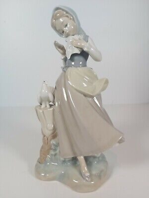 Lladro Figurine Girl With Doves No.4915, Appr.22cm Tall • 30£