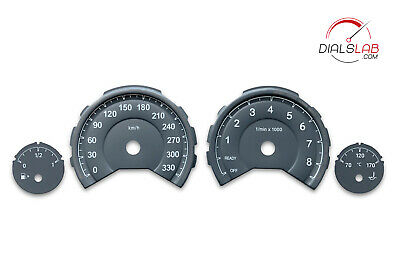 $69.99 • Buy 3D For BMW M3 M4 F80 F82 F83 - Speedometer Dials From MPH To Km/h Cluster Gauges