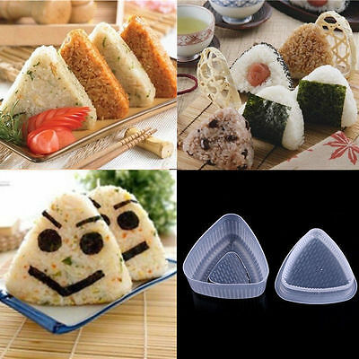 Triangle Form Sushi Mould DIY Onigiri Rice Ball Bento Press Maker Mold Tool • 1.71£