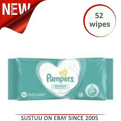 £3.09 • Buy Pampers Fragrance Free Baby Wipes │Smooth & Healthy Skin│1 X 52's