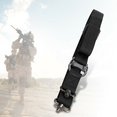 $ CDN19.71 • Buy Tactical Two 2 Dual Point Adjustable Bungee Rifle For Gun Sling System Strap