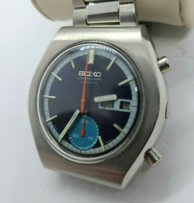$ CDN338.34 • Buy Seiko Vintage Chronograph Watch In Working Condition  6139-7071