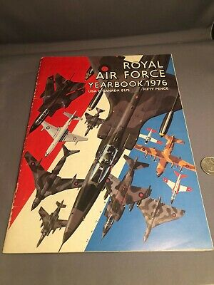 $19.95 • Buy Royal Air Force Yearbook 1976 Military Aircraft Aviation Airplane  RAF Magazine