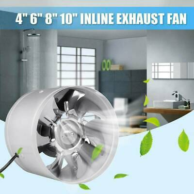 AU27.54 • Buy 4  6  Inch Hydroponic Exhaust Vent Fan Inline Duct Blower Grow Tent Ventilation