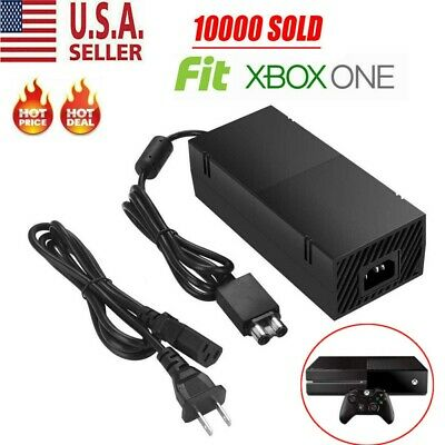 $25.99 • Buy AC Adapter For Microsoft XBox ONE Power Supply Replacement Charger Brick Cord US