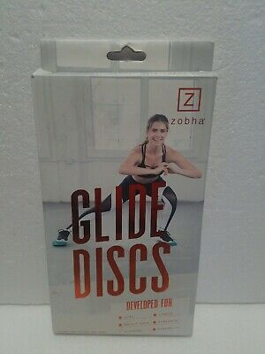 $9.99 • Buy ZOBHA Glide Discs. Set Of 2. Dual Sided For Carpet And Hardwood Floors US
